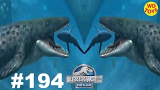 getlinkyoutube.com-Jurassic World - The Game Episode 194 Prognathodon Dinosaurs Ludia vs Indominus Rex Gameplay