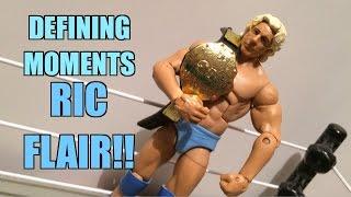 getlinkyoutube.com-WWE ACTION INSIDER: Ric Flair ELITE! Defining Moments Mattel Wrestling Figure w/Championship Belt!