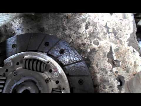 Фиат альбеа,сцепление и выжимной подшипник 1
