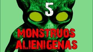 getlinkyoutube.com-5 Monstruos alienigenas escondidos en la tierra