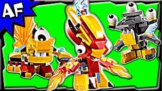 getlinkyoutube.com-Lego Mixels Series 1 MURP & MIX Combos Animated Building Review