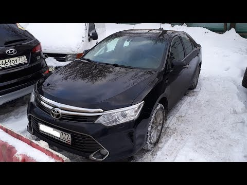 Toyota Camry 2016. Восстанавливаю поролоновую плиту, левую часть.