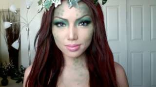 getlinkyoutube.com-Swamp Mermaid  Make-up!!!!