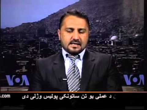 Sediq Mansoor Ansari speaking on Karzai - Sharif Meeting