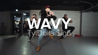 getlinkyoutube.com-Wavy - Ty Dolla $ign ft. Joe Moses / Mina Myoung Choreography
