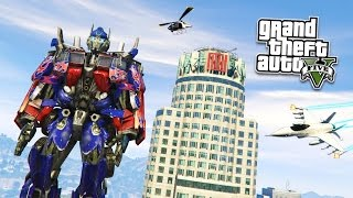 "getlinkyoutube.com-GTA 5 PC Mods - EPIC ""OPTIMUS PRIME"" MOD! GTA 5 Transformers Mod Gameplay! (GTA 5 Mods Gameplay)"