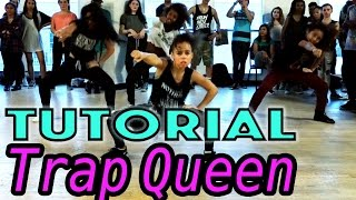 getlinkyoutube.com-TRAP QUEEN - Fetty Wap Dance TUTORIAL | @MattSteffanina Choreography (Beginner Hip Hop)