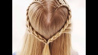 getlinkyoutube.com-Peinado: Trenza de corazon