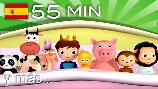 getlinkyoutube.com-Diez había en la cama    Y muchas más canciones infantiles   ¡55 min de LittleBabyBum!