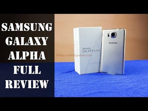 المراجعه الكامله لجهاز SamSung Galaxy Alpha