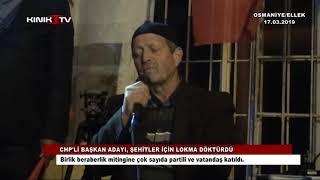 CHP'li Başkan Adayı, şehitler için lokma döktürdü