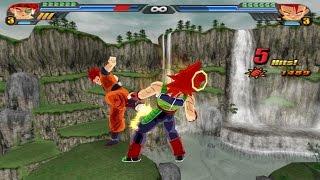 getlinkyoutube.com-Bardock SSJ God VS Gohan Super Saiyan God (Dragonball Z Budokai Tenkaichi 3 mod)
