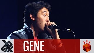 GENE  |  Grand Beatbox SHOWCASE Battle 2016  |  Elimination