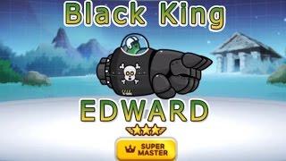 getlinkyoutube.com-Line Rangers Season 2 : Black King EDWARD Super Master (Skill Flame Shot) เอ็ดเวิร์ดหนอนดำ