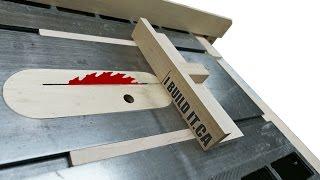 getlinkyoutube.com-Building The Mini Table Saw Sled