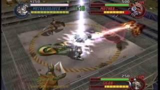 getlinkyoutube.com-Kiryu vs Mothra+Rodan+Gigan