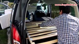 getlinkyoutube.com-Easy Bed Car : un mini camping-car en moins de 3 minutes !
