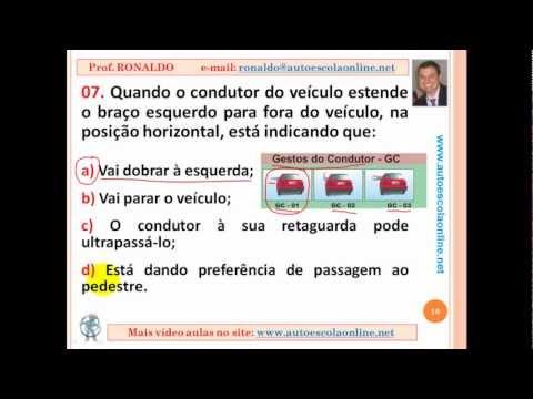 AULA 40 SINALIZAÇÃO DE TRÃNSITO - LEGISLAÇÃO DE TRÂNSITO PARA PROVA SIMULADA DO DETRAN