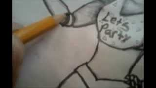 getlinkyoutube.com-how to draw Toy Chica/como dibujar a Chica five nights at freddy´s 2
