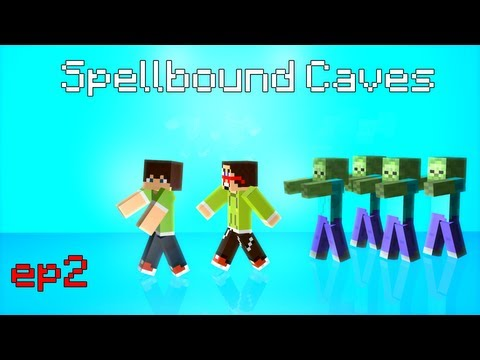 [Minecraft]Spellbound Caves ep2