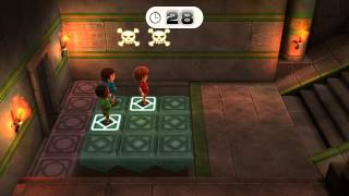 getlinkyoutube.com-Wii Party U Minigame Showcase - Perilous Pathways (1 vs Rivals)