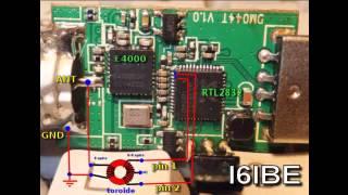 getlinkyoutube.com-Mods Dongle RTL2832 ricezione HF 0-30 Mhz Direct Sampling