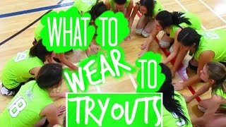 getlinkyoutube.com-What To Wear To Volleyball Tryouts!