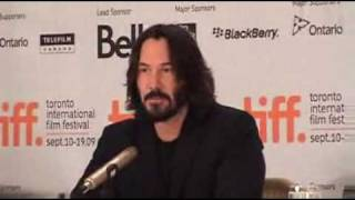 Keanu Reeves Talks About Patrick Swayze For The First Time After His Death width=