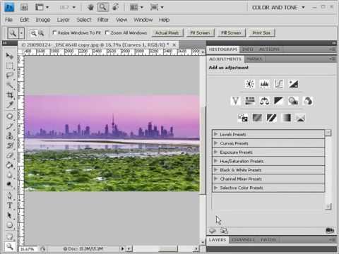 ما الجديد في photoshop CS4