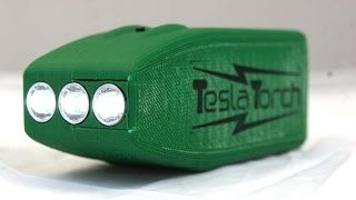getlinkyoutube.com-How to build the 3D Printed Tesla Torch fast charge flashlight V01