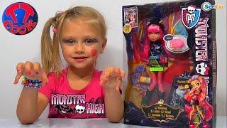 getlinkyoutube.com-✔ Кукла Монстер Хай. Ярослава распаковывает новую Игрушку / Monster High Howleen Wolf Doll. VLOG ✔