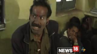 getlinkyoutube.com-नशे में चेहरे पर भभूत मलकर थाने पहुंचा पुलिस का 'कन्हैया', कहा- मैं भ्रष्टाचारियों का नाश कर दूंगा