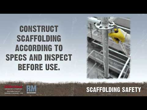 Toolbox Talk: Scaffold Safety