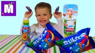 getlinkyoutube.com-Самолеты Дисней Ежики Киндер сюрприз игрушки распаковка Planes Kinder hedgehogs surprise eggs toys
