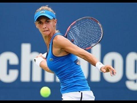 2015 Connecticut Open Quarterfinals | Lesia Tsurenko vs Karolina Pliskova | WTA Highlights