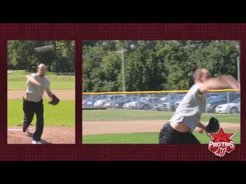 Pitching Tips: Basic Pitching Mechanics with David Pauley