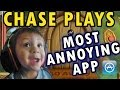 Chase Plays Most Annoying App Ever 2 Year Old Face Cam Do Not Disturb iOS Gameplay