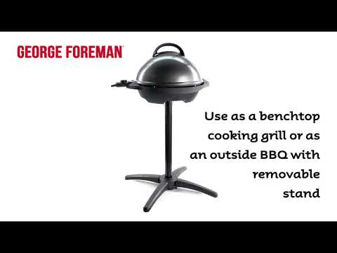 George Foreman Easy to Clean Indoor/Outdoor BBQ Grill