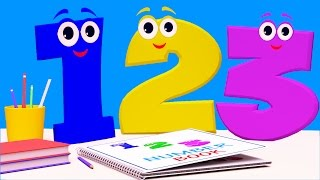 getlinkyoutube.com-Numbers Song | Learn Counting From 1 to 10 | 123 Nursery Rhyme
