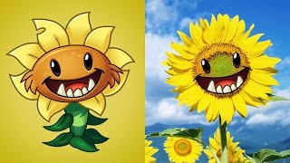 getlinkyoutube.com-Plants Vs Zombies 2 Plantas en la Vida Real con Imágenes TERCERA PARTE