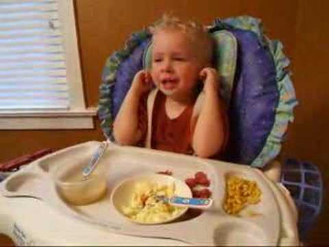 8-27-07 Jack won't eat dinner