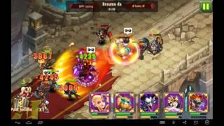 getlinkyoutube.com-Magic Rush Heroes: Blaine  Baggins Karna vs Russel Coco e Sebastian