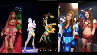 getlinkyoutube.com-HOT Beautiful Cosplay Dota 2 Compilation !