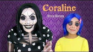 getlinkyoutube.com-Coraline's Other Mother Makeup Tutorial