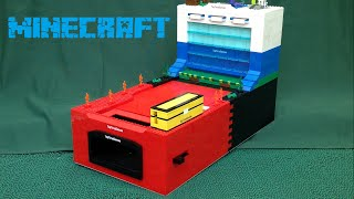 getlinkyoutube.com-Lego coin pusher - *Minecraft edition*