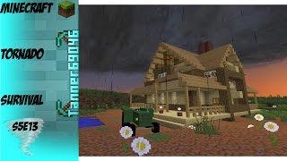 getlinkyoutube.com-Minecraft Tornado Survival (Localized Weather Mod) S5E13