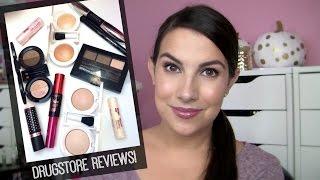 getlinkyoutube.com-NEW Drugstore Makeup! Mini Reviews