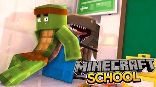 getlinkyoutube.com-Minecraft School S2 : DINOSAURS IN THE SCHOOL!!