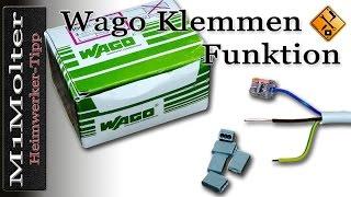 getlinkyoutube.com-Wago Klemmen richtig benutzen oder wie Wago Klemme lösen? von M1Molter