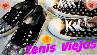 getlinkyoutube.com-Como Decorar tus Tenis Viejos a Nuevos!!! Super Facil